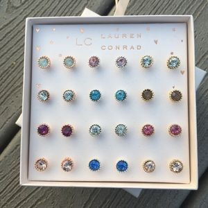 🌸Lauren Conrad Stud Earring Set NEW🌸